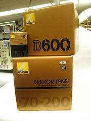 Nikon D600 Digital SLR Camera Body 24.3 Megapixel,  FX Format,
